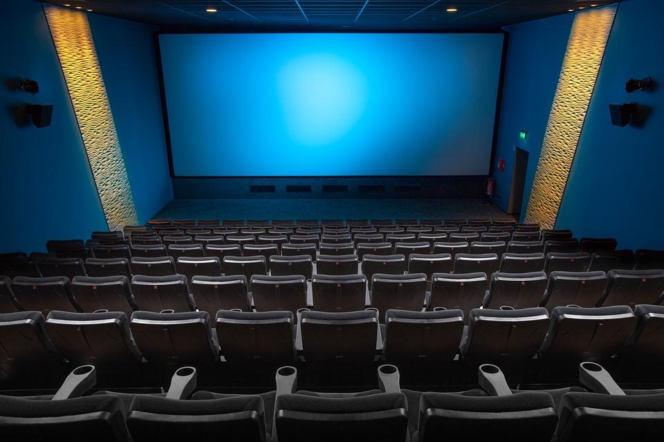 シネマ ホール 映画 映画愛好家 映画の参加者 劇場 映画館ホール デモ シート